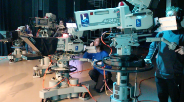 television-studio